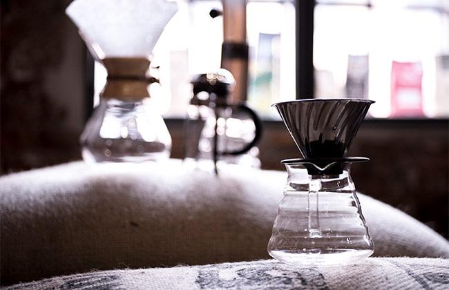 Kaffee Filtration Gerät