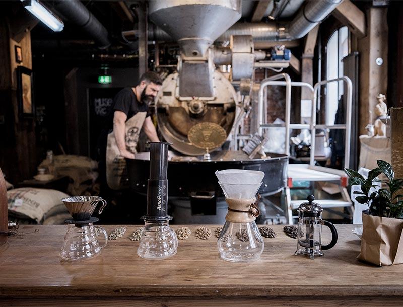 Kaffeeherstellung Geräte