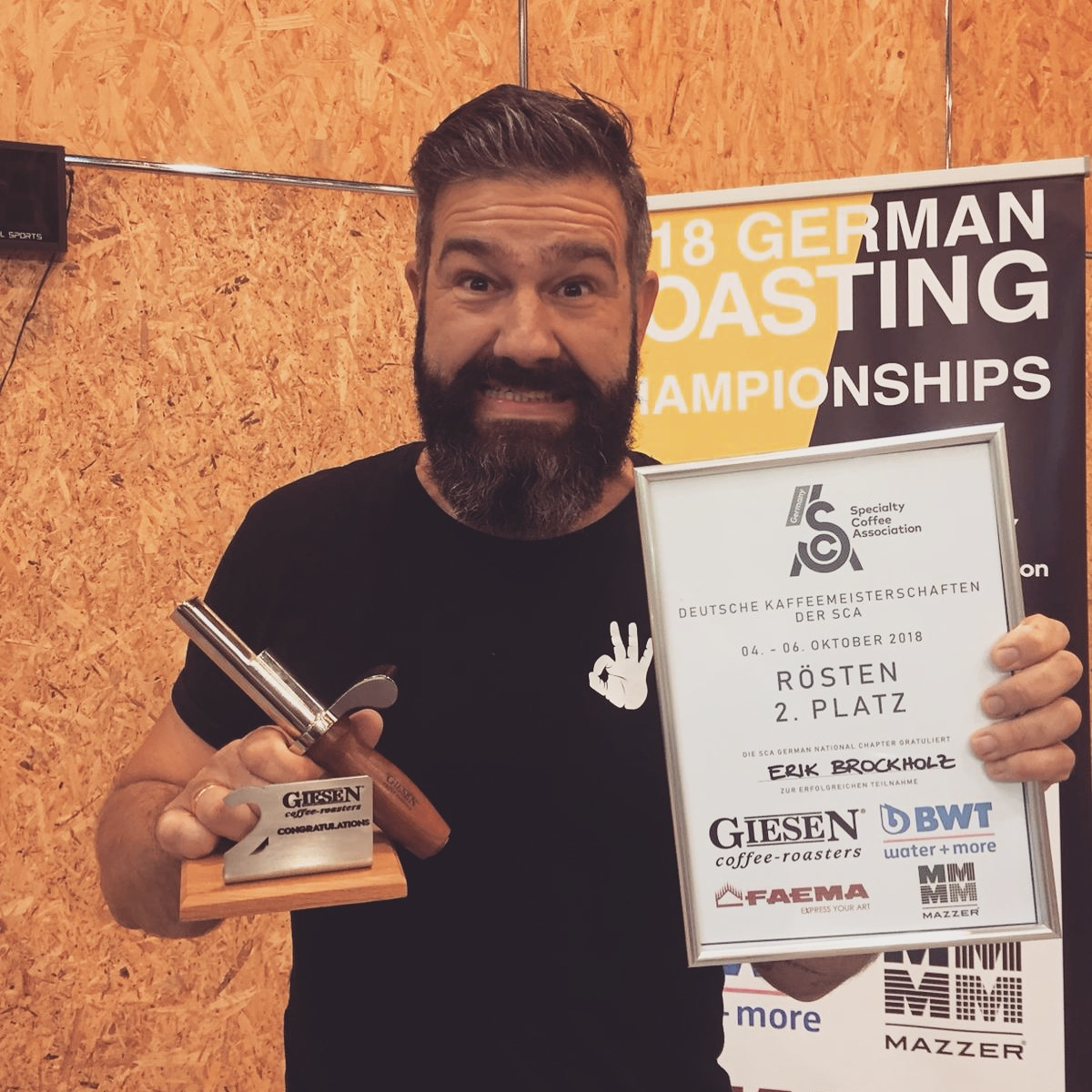 Deutscher Vize Röstmeister 2019: Erik Brockholz